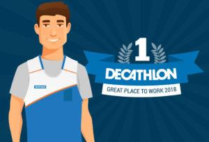 Decathlon | Infographie GPTW 2018